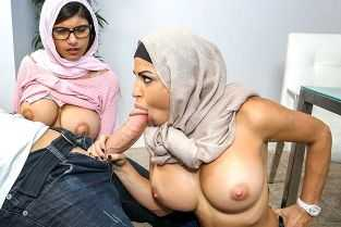 arab sister lovely suck fuck 0